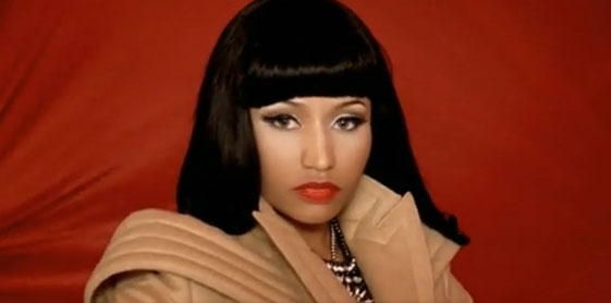 nicki minaj super bass hair. hair nicki minaj super bass