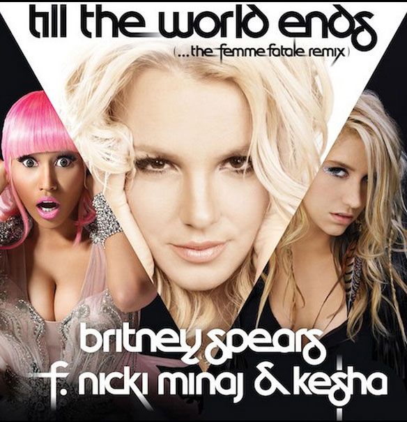britney spears till the world ends artwork. Britney tweeted the artwork